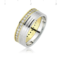 Tekbir Silver 925 Pair Wedding Ring | WR0820085
