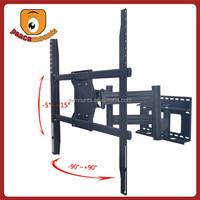 Retractable swivel movable lcd tv bracket for 60-72 inches LED/LCD/PLASMA