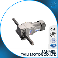 Linear type reducer geared motor induction AC motor 6w