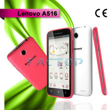 4.5 inches mobile phone lenovo 516 dual sim card dual standby android 4.2