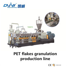plastic PET bottle granulating manufacture
