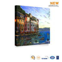 Home Decor Beautiful Mediterranean Landscape Oil Painting