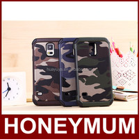 2 in 1 Heavy Duty Shockproof Camouflage Skin phone case cover for Samsung Galaxy S5