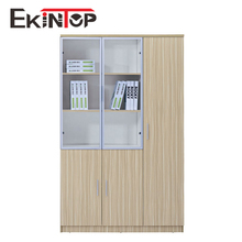 Pearl white color good quality office 3 drawer filing cabinets