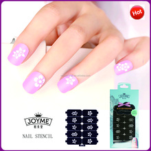 High quality new flower nail art printer friger nail art design stencil