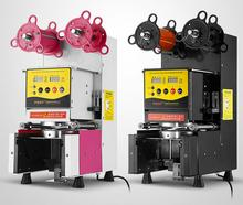 New arrival automatic paper bubble tea cup sealing machine lower prices for cup sealing machine