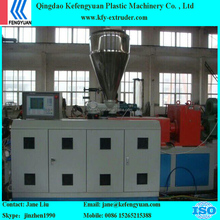 Kefengyuan PVC pip production line with double screw extruder