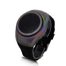 1pc Sports mini wireless Bluetooth speaker Wrist watch shape Portable Stereo MIC for Mobile Phone Tablet Computer MP3 Epacket