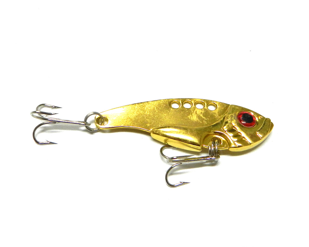Wholesale vib metal blade fishing baits 11g fishing for Bulk fishing lures