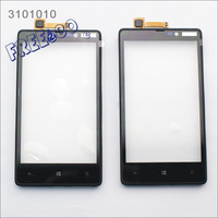 Original Glass mobile phone lcd touch screen for Nokia N820 digitizer