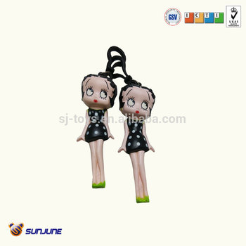PU newest design soft toys- pretty girl promoyional gift
