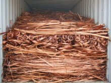 Bulk copper wire scrap for PVC insulated copper electrical cable wire
