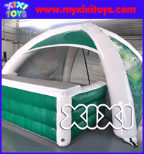 Exhibition inflatable booth spider tent, customized advertising inflatable equipments
