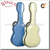 "[WINZZ] Wholesale Colorful 39"" Fiberglass Classical Guitar Case (CCG-F20)"
