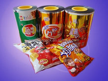 BOPP/PE/VMPET/PE printed film for chips tomato chips bugles packaging wrapper