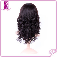 Online shop wholesale dropship natural looking india remy natural looking hair wigs