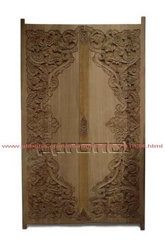 Wood Door Carving (Old Teak Wood ) 2