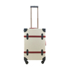 Retro Design Newest ABS Carry On Trolley Case With PVC Skin
