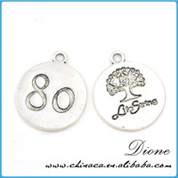 Nickel and lead free metal charms for bulk metal charms