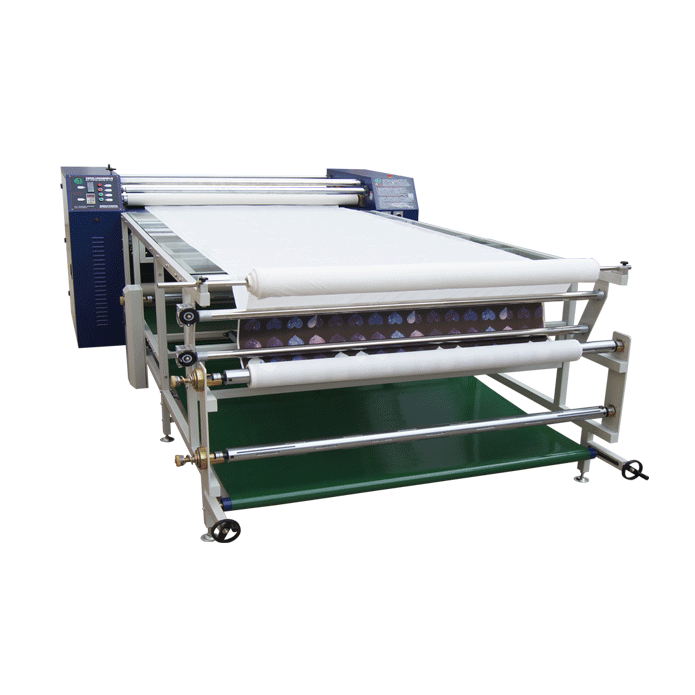Garment type-Roller sublimation transfer machine for Cloth