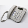 Caller ID phone with two-way speakphone and phone book for call center