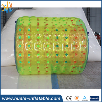 Best sale inflatable water roller, inflatable water walking roller, inflatable water rolling tube