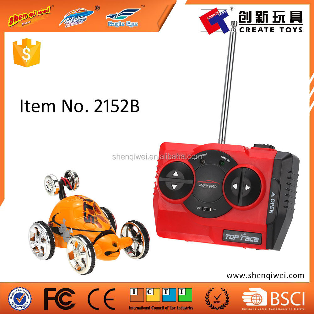 New Car Radio Control 3CH 360 Degrees Roll Mini Car RC Remote Control Stunt Car Toy for Children