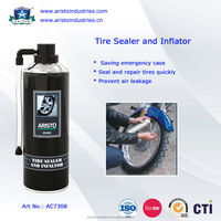 Aristo Tire Sealer and Inflator / Tyre Repair Spray After Puncture / Automatic Tyre Inflator