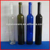 375ml and 200ml colored ice wine bottle