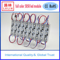 programmable full color 5050 rgb ws2801 led pixel module 3LED & 1IC /pixel