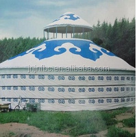 20M diameter mongolian winter yurt