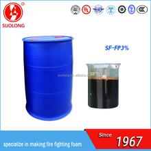 Fluoro-Protein fire fighting foam concentrate/fluoro-protein foam extinguishing agent(FP3%)