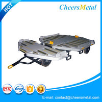 4 Wheels Airport Pallet Transport Dolly