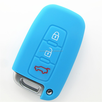 High Quality Cheap Lock Pick Set Silicone Rubber Car Key Covers for Hyundai