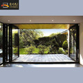 Alumimium glass house main gate designs folding door