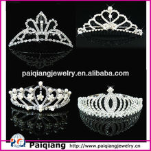 New arrival wedding pageant tiaras crown for sale