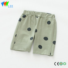100%cotton baby kids girls shorts print a great point
