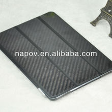 carbon fiber smart cover for ipad case, radiation protection case for ipad