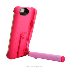 Bulk buy from china phone accessories hot trending new built-in bluetooth selfie stick phone case for iphone 6s