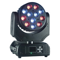 2016 Best Price 4 in1 RGBW Economic 12pcs LED Moving Head Light LED XP-200(4 IN1)