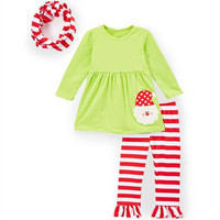 Wholesale Boutique Baby Christmas Clothes Children