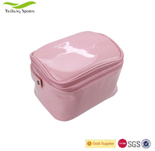Big Space 2 Layer Toiletry Bag Multifunction Cosmetic Makeup Brushes Case