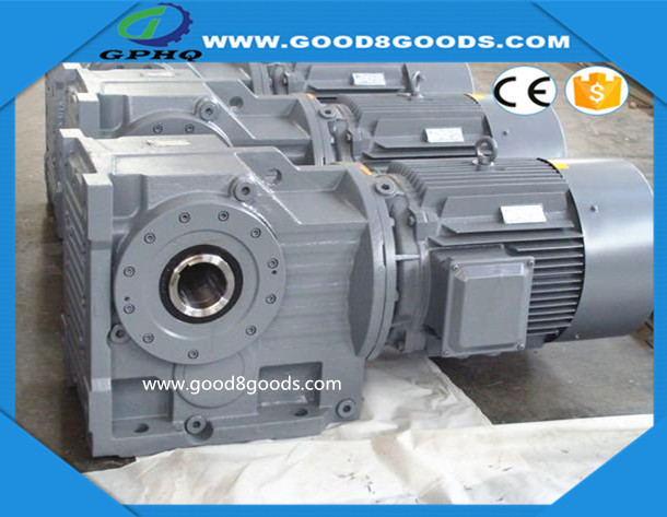 GPHQ k series helical gearboxes k37-k187 details