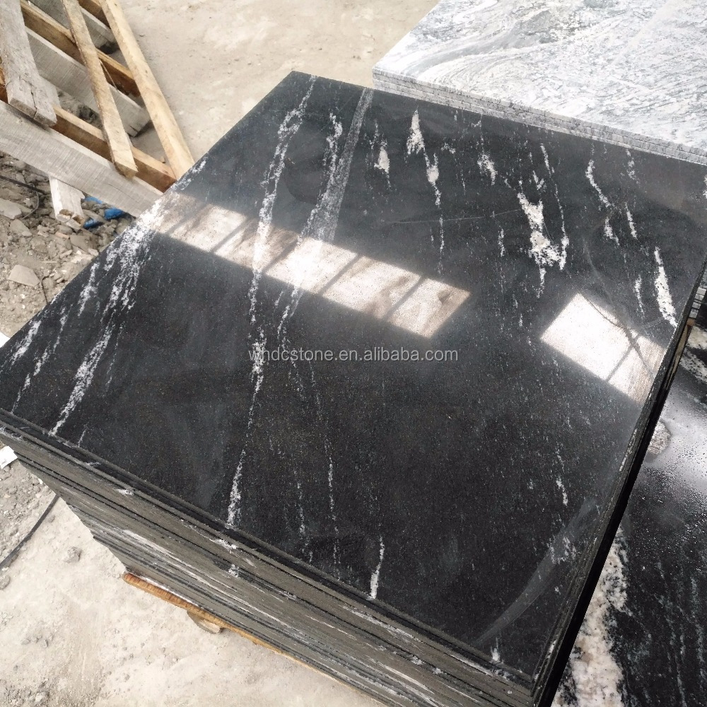 Factory Wholesale Polished Snow Grey Granite For Indoor Paving stone