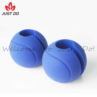 Weightlifting Silicone Ball Thick Bar Grips For Fat Bar Training
