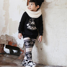 Design Winter Child Clothes Export Blouse Sleeve T shirt For Children