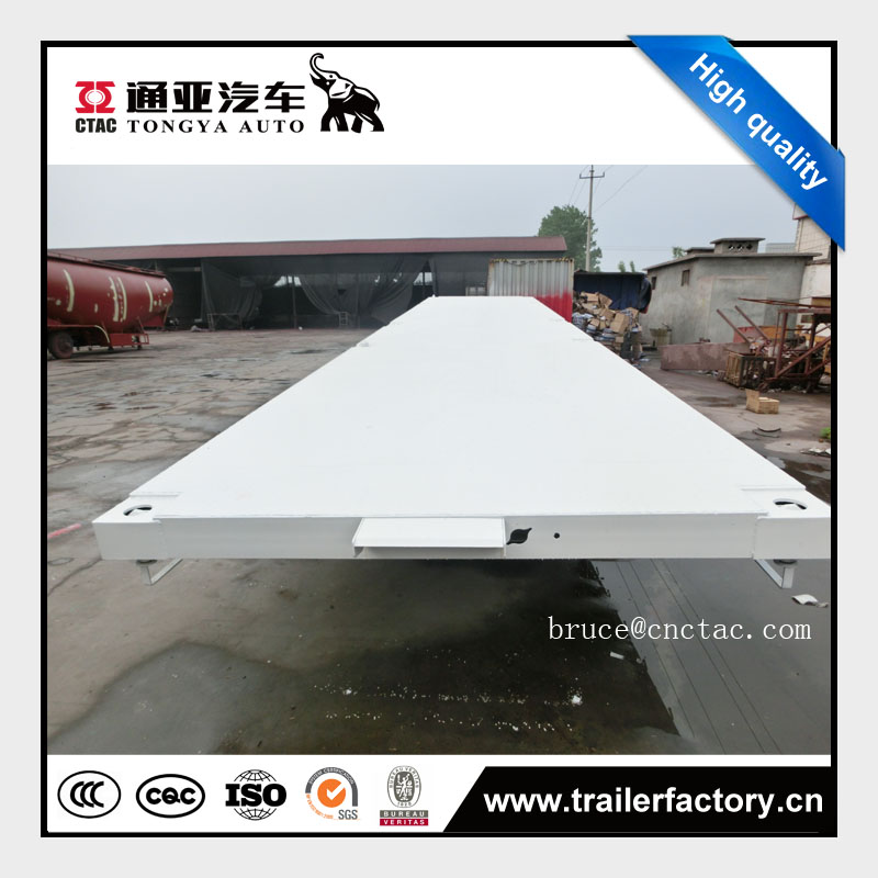 flat bed truck trailer, container trailer with twist lock
