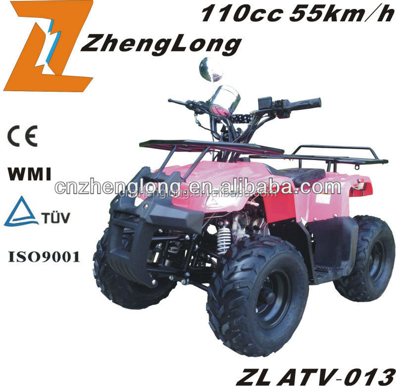 The EPA and CE certification of 110cc Quad ATV