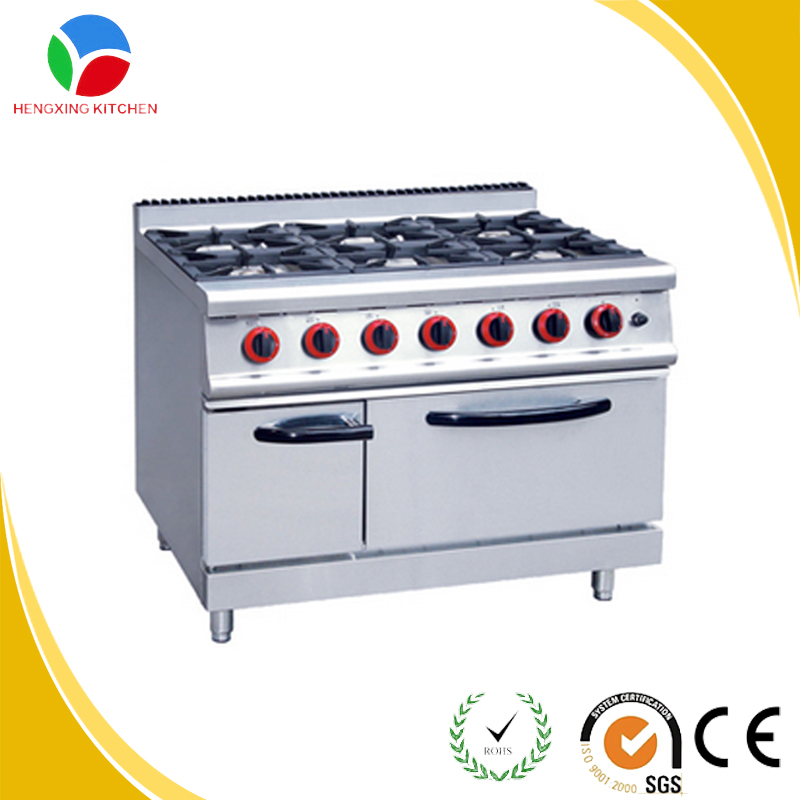 Commercail Kitchen Cooking Range/Iron Gas Cook Stove Range/Chinese Cooking Range