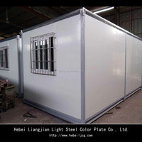 prebuilt container house/ container coffee shop/expandable container office